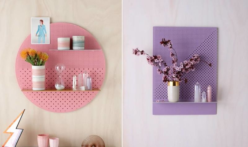 Practical Perforated Shelves