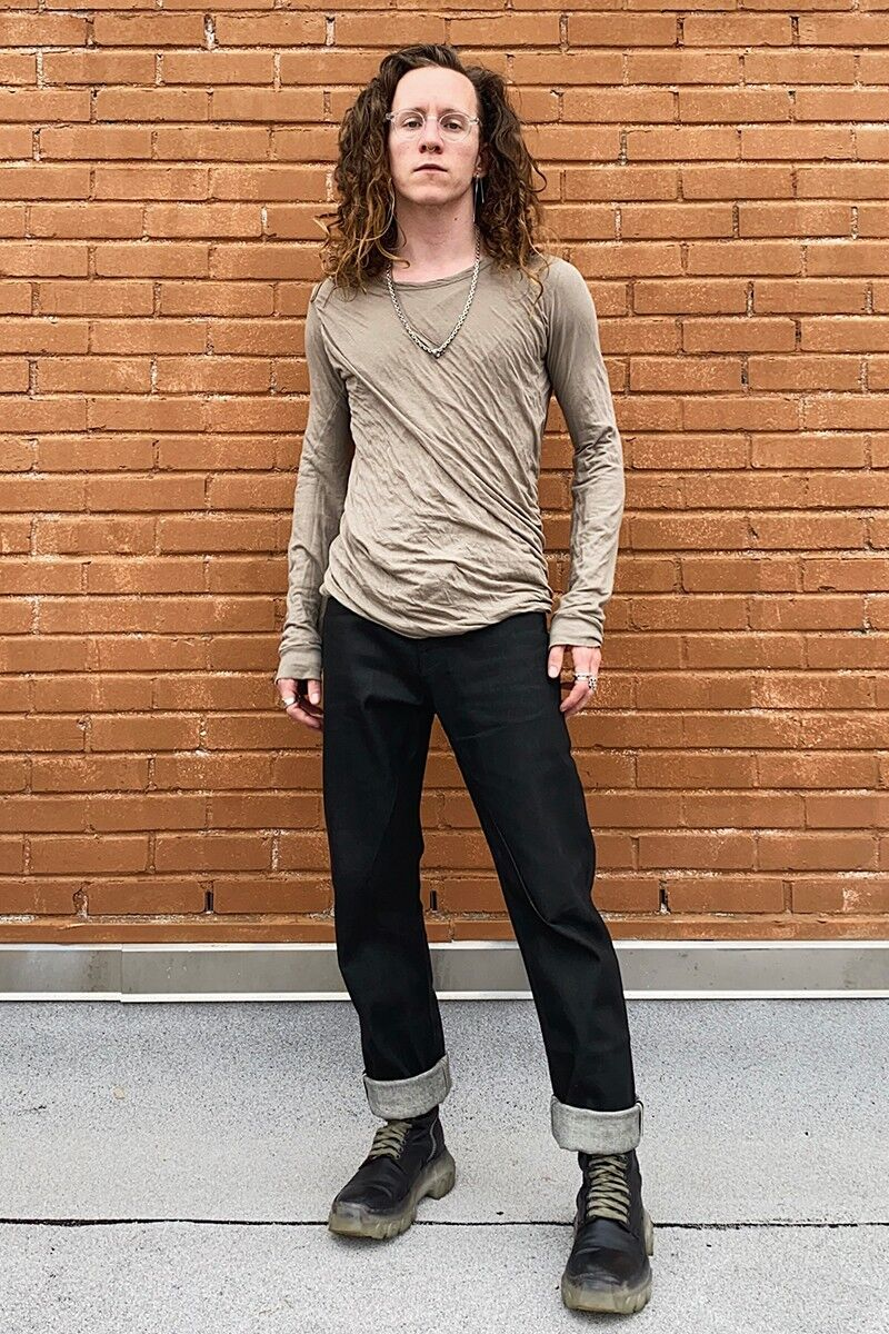 Workwear-Themed Overdyed Denim