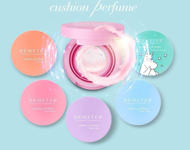 Cushioned Perfume Gels