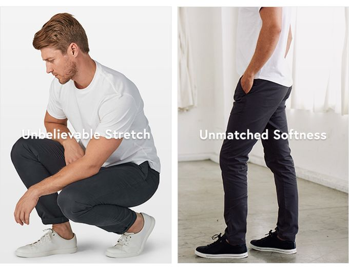 Personalized Comfort-Focused Pants - The Perk 2.0 Chinos are Available in 27 Unique Sizes (TrendHunter.com)
