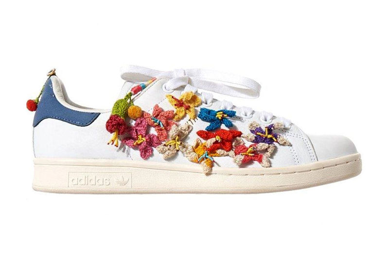 Fabric-Embroidered Footwear Capsules