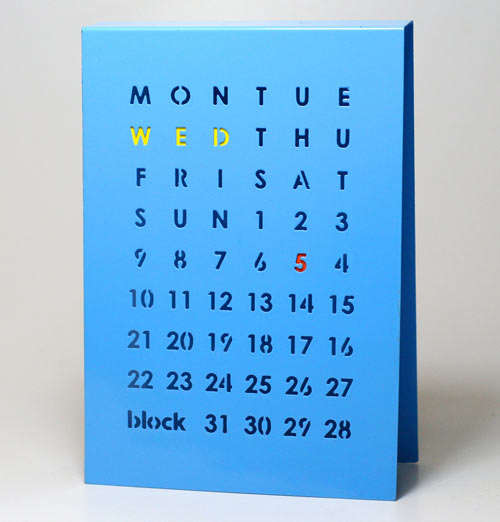 Modernly Manual Perpetual Calendars