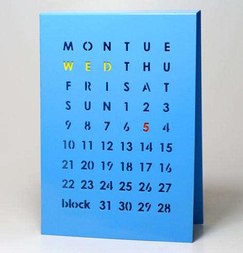 Modernly Manual Perpetual Calendars