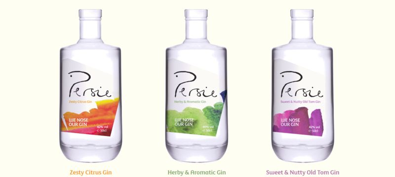 Aromatic Gin Bottles