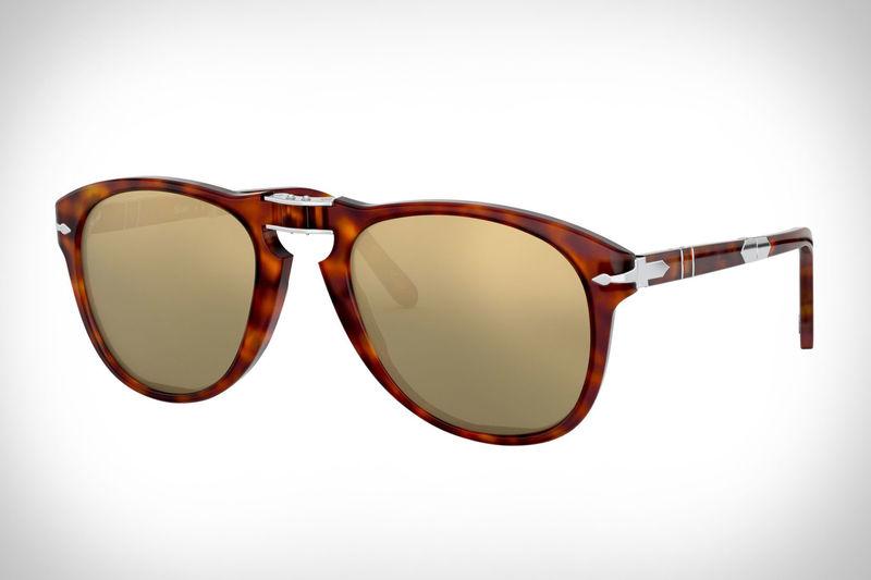 45e48c6e9474 24K Gold-Plated Sunglasses : Persol 714SM