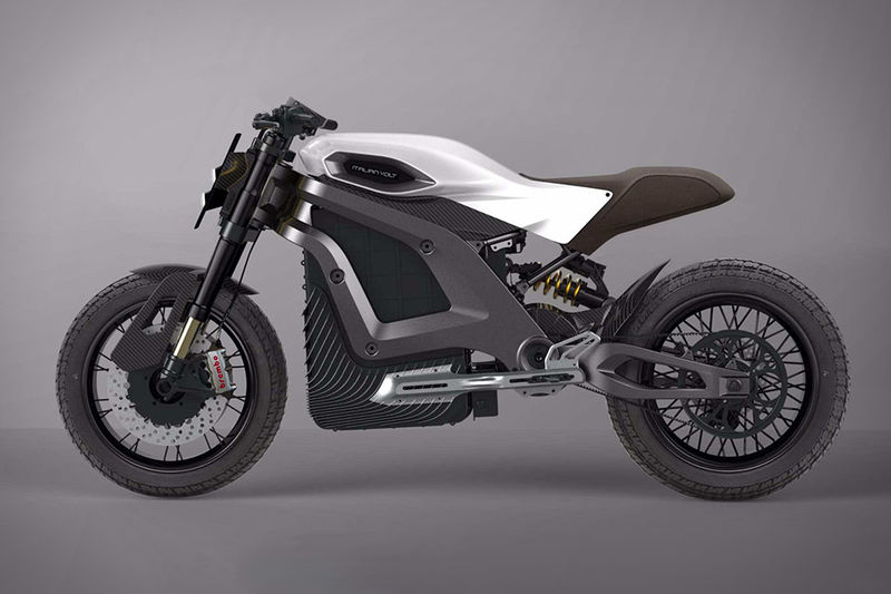 3D-Printed Electric Motorcycles