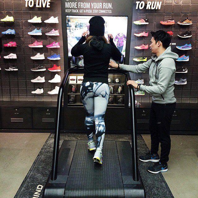 Futuristic Athletic Retailers