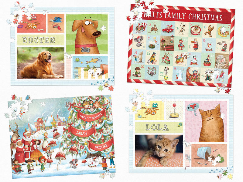Festive Personalized Puzzles