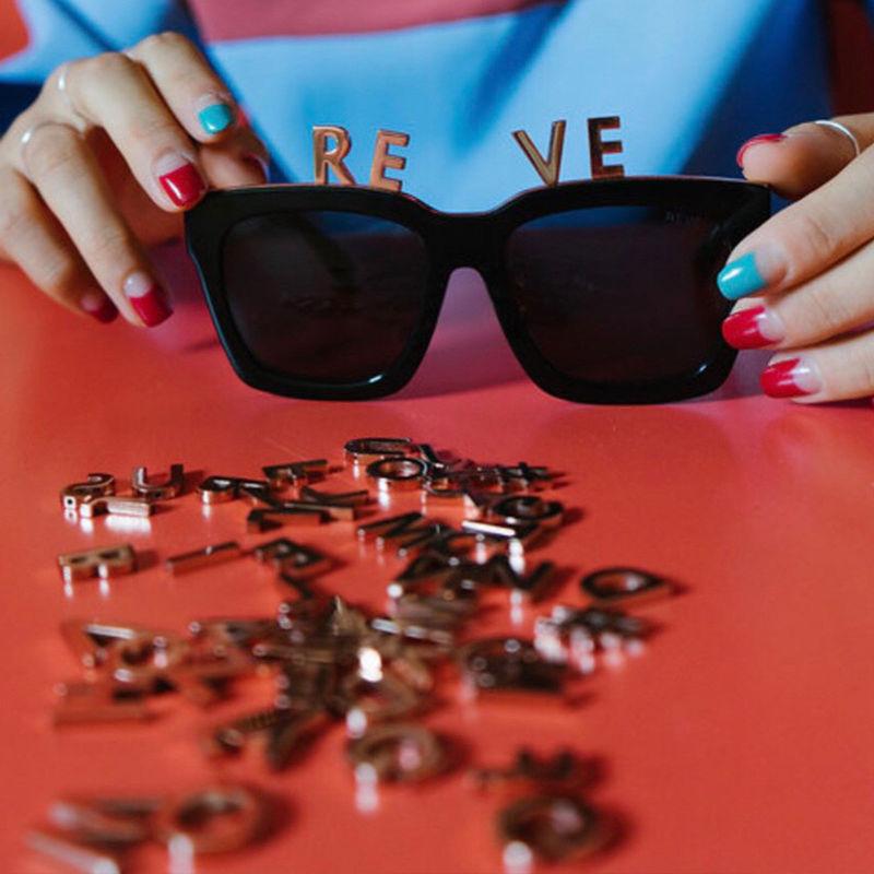 Customizable Alphabet Eyewear