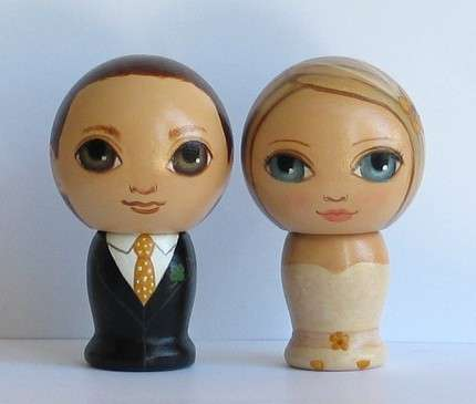 Custom Bridal Bobbleheads