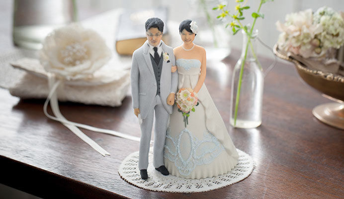 trending wedding cake toppers personalized wedding figurines personalized wedding topper 21263