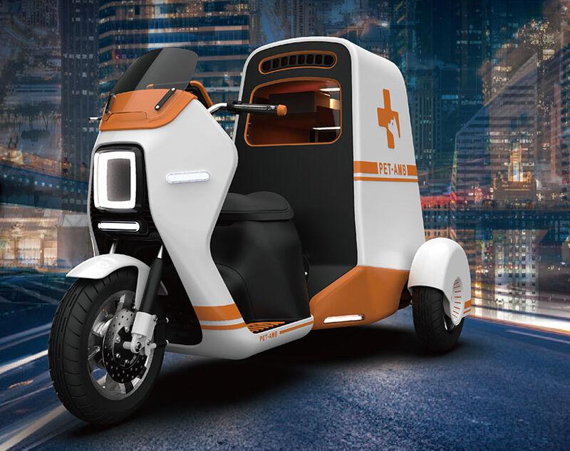 Futuristic Urban Pet Ambulances