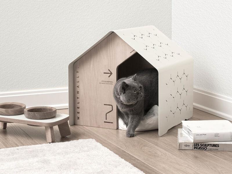 Minimalist Indoor Pet Houses