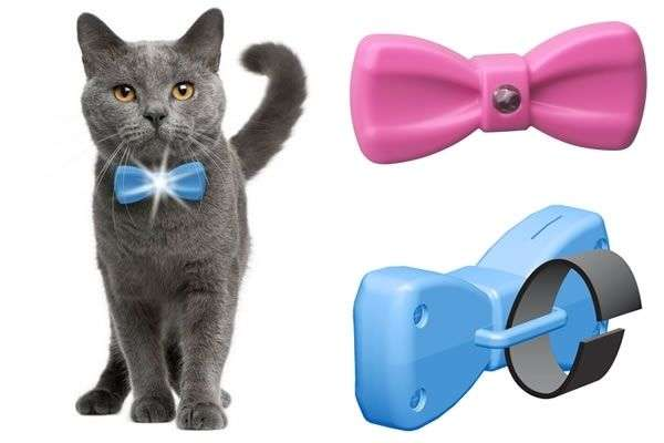 Illuminating Pet Bow Ties