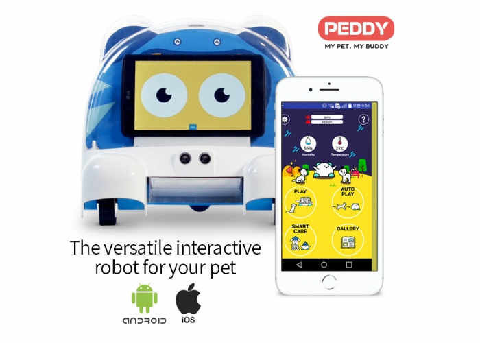 Interactive Pet Companion Robots