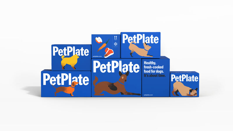 Illustrated Pet Food Branding