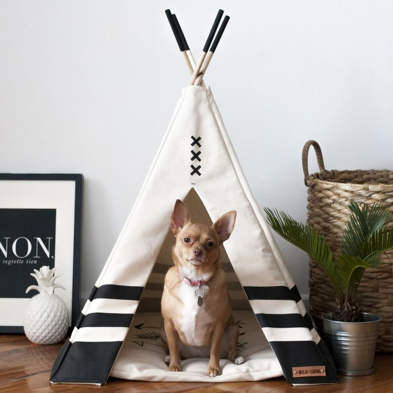 Handmade Teepee Pet Houses