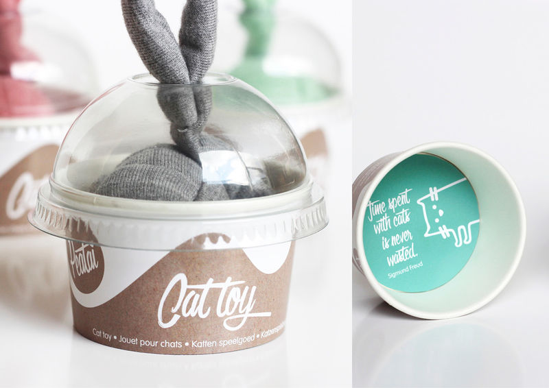Inspirational Pet Toy Packaging