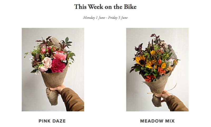 Bouquet Bike Deliveries