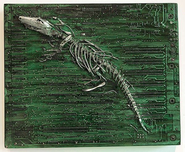 Circuit Board Fossils