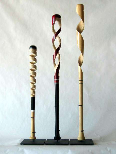 Baseball Bats Carvings