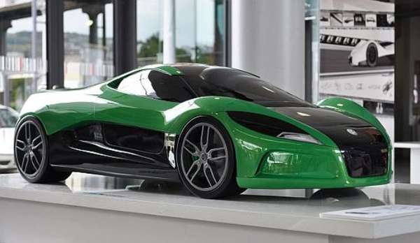 Solar-Powered Supercars