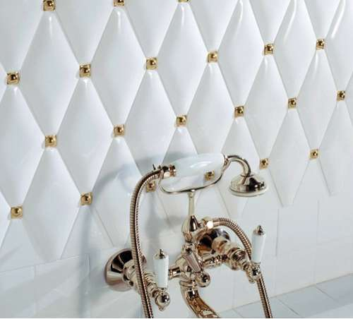 Luxurious Quilted Walls
