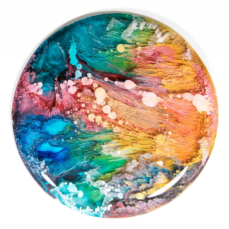 Colorful Resin Art Collections