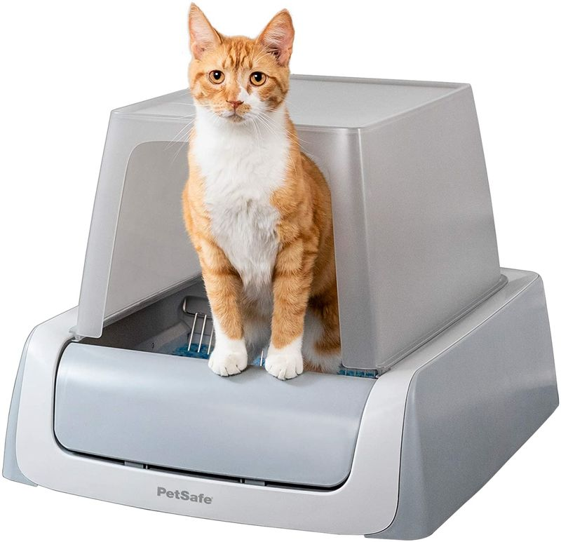 Automated Mess-Free Litter Boxes