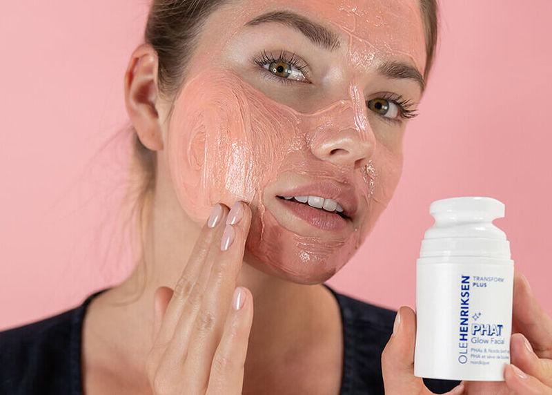 Massage-Activated Face Masks