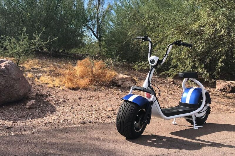 Comfy Off-Road Electric Scooters