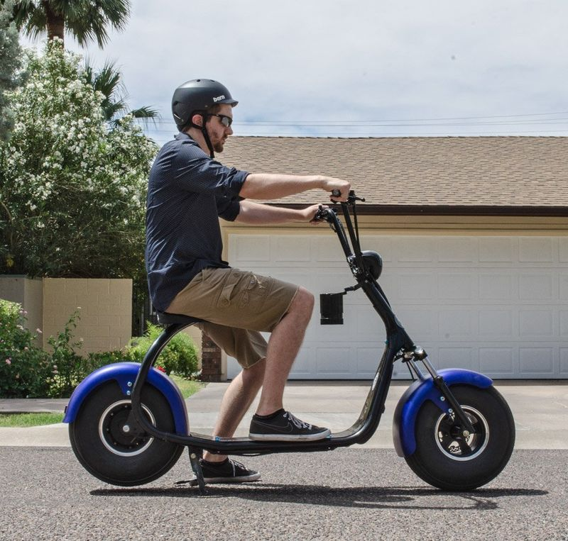 oversized tire scooters phat scooter. Black Bedroom Furniture Sets. Home Design Ideas