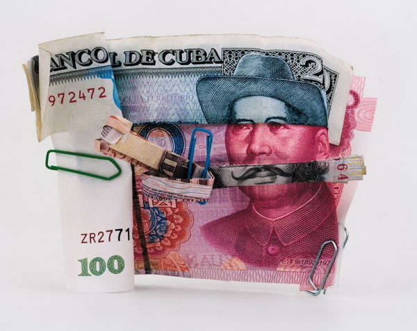 Collaged Currency Masterpieces