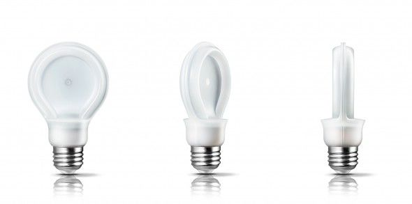 Slenderized Lightbulb Designs