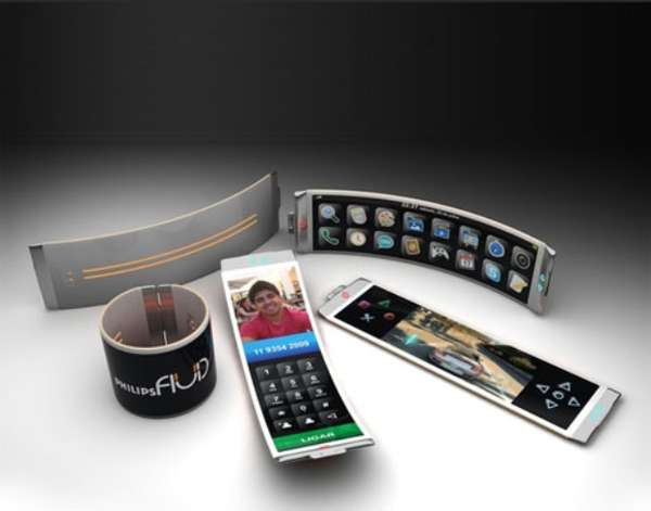 Wrist-Wrapping Smartphones