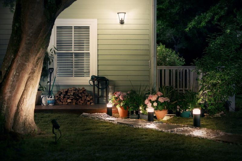 Garden-Friendly Smart Lights