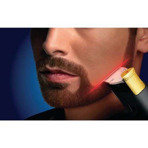 Laser-Guided Facial Hair Clippers