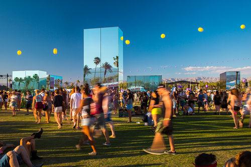 Reflective Festival Installations