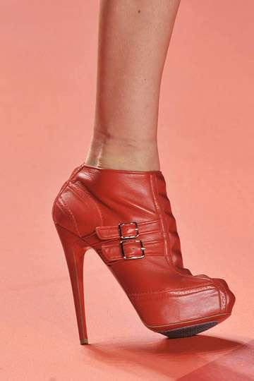 Sky-High Scarlet Heels