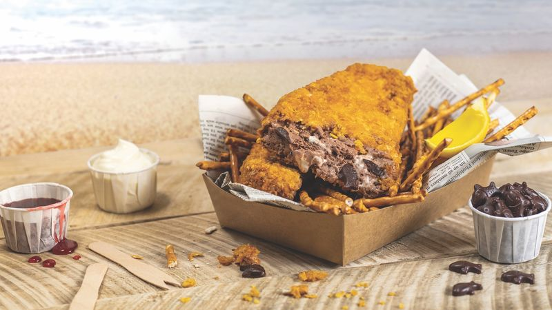 Fried Fish-Inspired Ice Creams