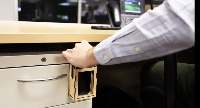Dedicated Smartphone Storage Cradles
