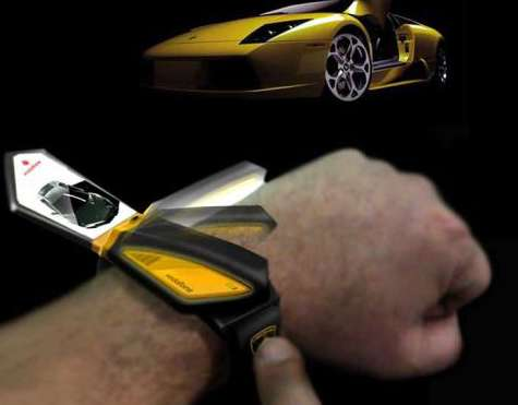 Car-Like Phone Watches