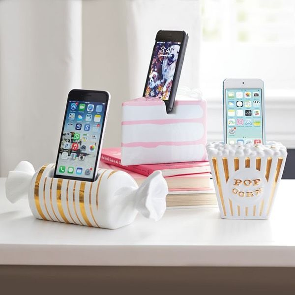 Ceramic Sweets Phone Docks