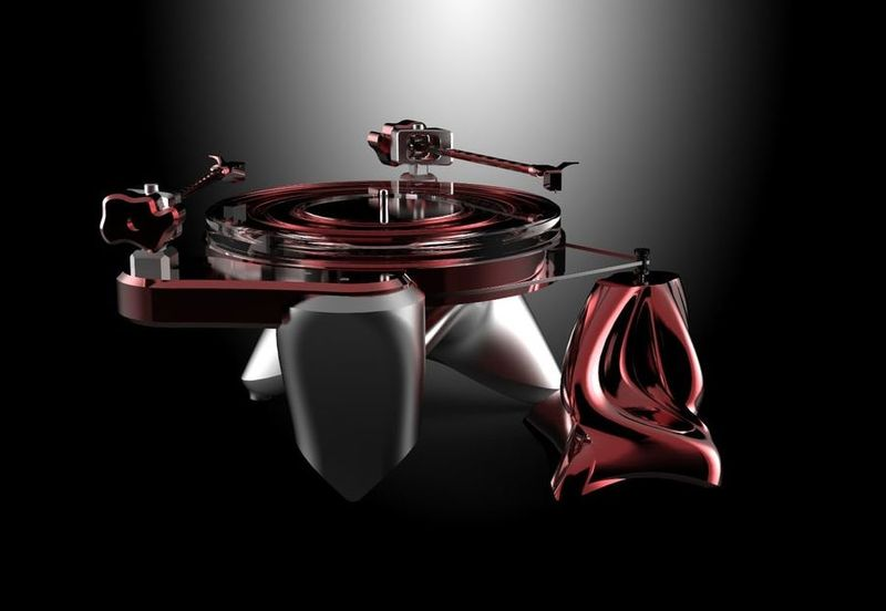 Chic Sci-Fi Record Players