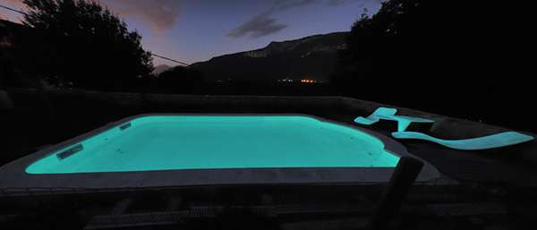 Twilight Swimming Pools Phosphorescent Pool