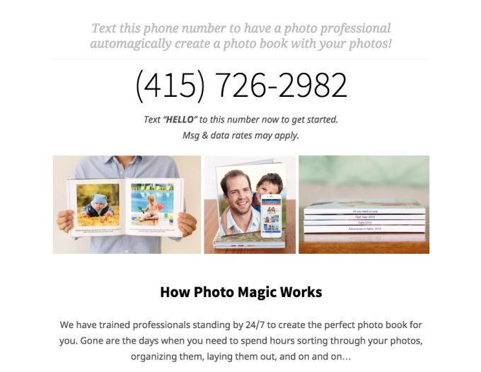Text Message Publishing Services