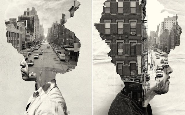 Personified Cityscape Portraits