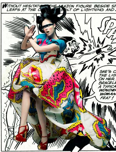 Fashionista Superheroes