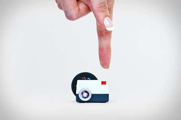 Miniature Social Media Projectors