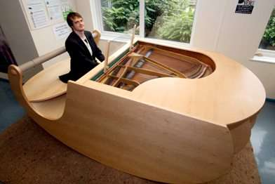 Pianos That Literally Rock